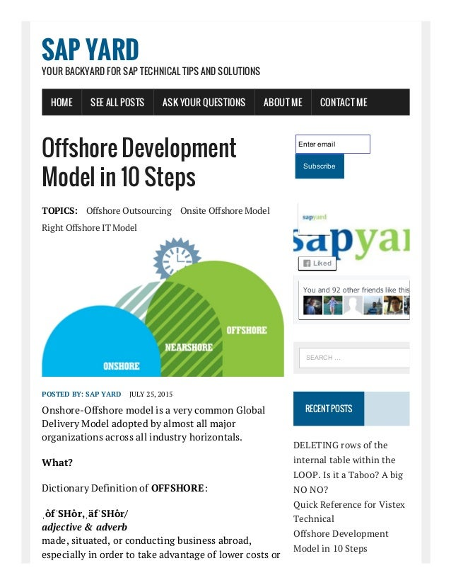 8/11/2015 OffshoreDevelopmentModelin10Steps SAPYard http://www.sapyard.com/offshoredevelopmentmodelin10steps/...