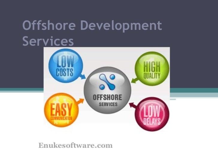 Offshore DevelopmentServices  Enukesoftware.com