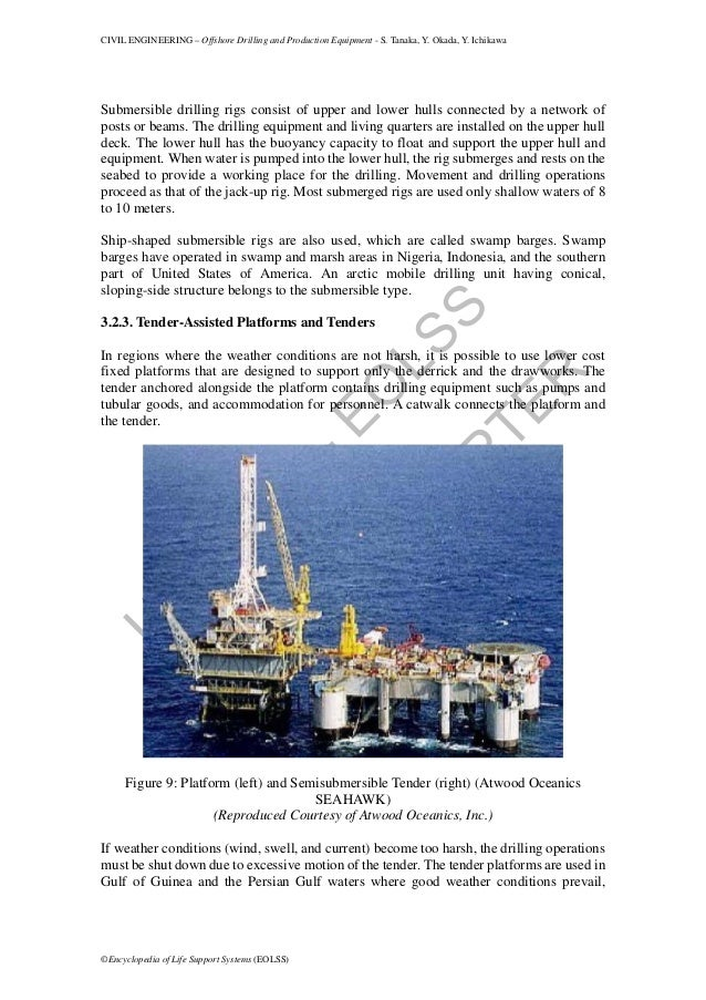 Offshore drilling and production equipment (1)