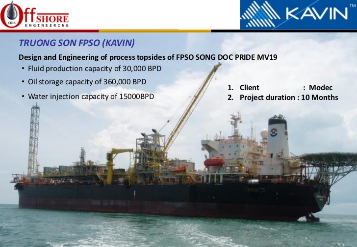 Immage Offshore Engineering : Offshore engineering kavin engneering fpso corporate