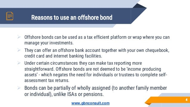 Which offshore investment bonds investment proposal sample ppt files