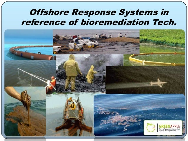 Offshore Response Systems in reference of bioremediation Tech.
