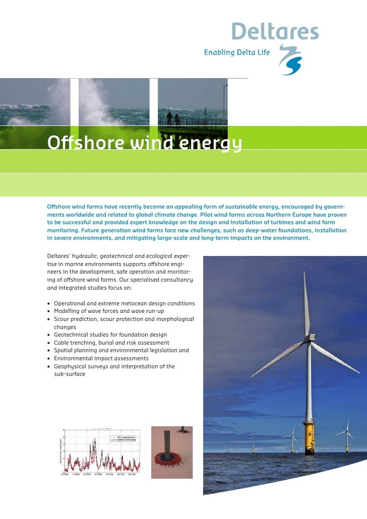 Deltares Capability Statement Offshore Wind Energy