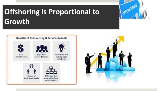Offshoring is Proportional to Growth