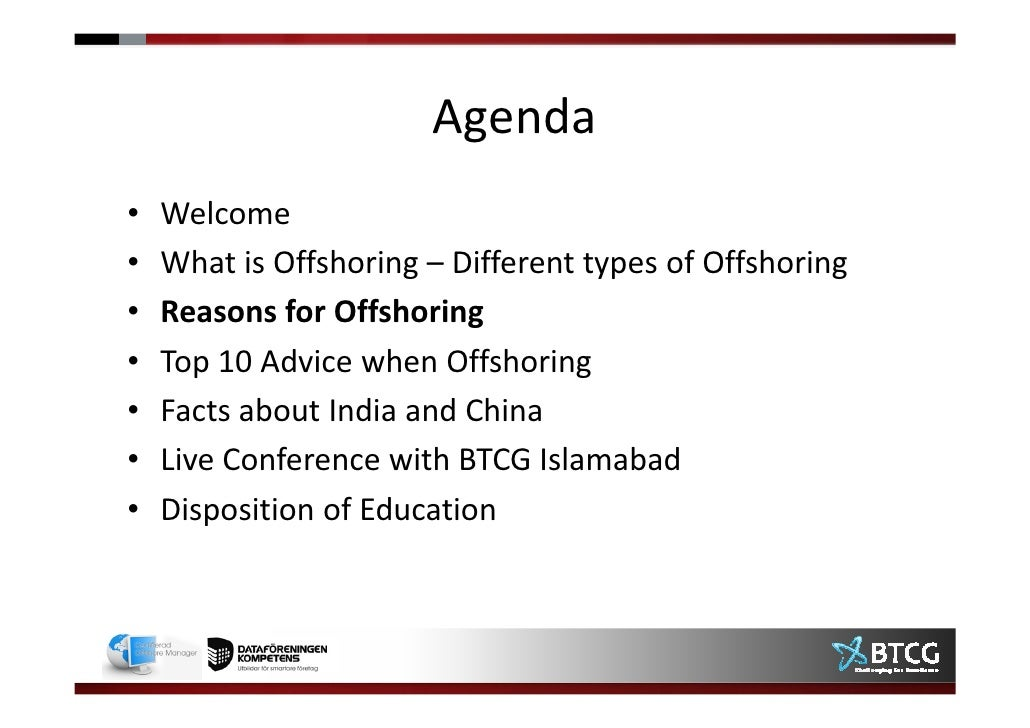 offshoring benefits risks Advantages & disadvantages of offshore it outsourcing category despite the advantages and cost benefits that offshoring offers we suggest companies develop strategies to overcome the risks to reap the maximum benefits of offshoring or consider onshoring for saving money and.