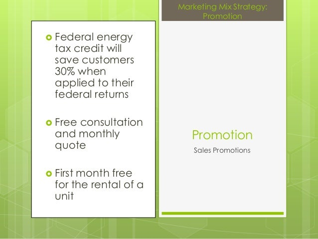  Federal energytax credit willsave customers30% whenapplied to theirfederal returns Free consultationand monthlyquote F...