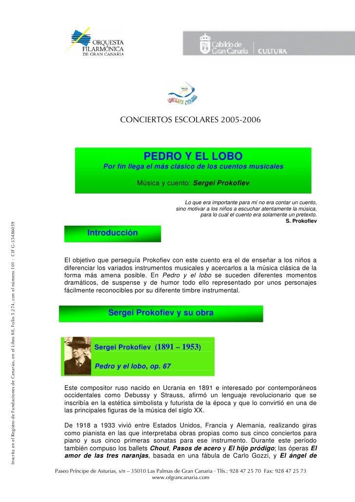 CONCIERTOS ESCOLARES 2005-2006                                                                                            ...