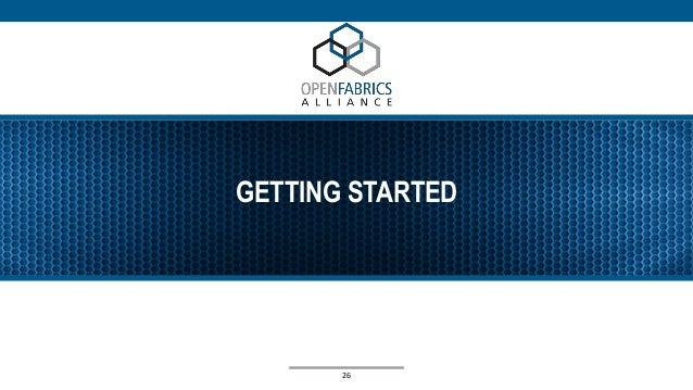 GETTING STARTED 26
