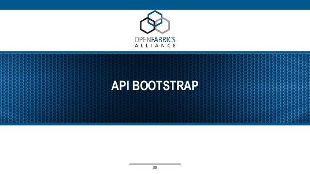 API BOOTSTRAP 30