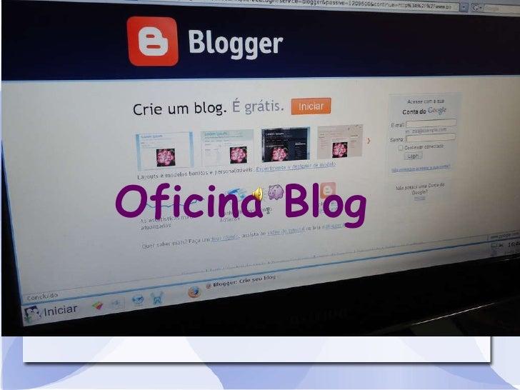 Oficina Blog