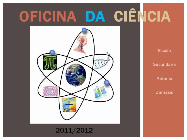 OFICINA DA CIÊNCIA                  Escola                Secundária                 António                 Damásio    20...