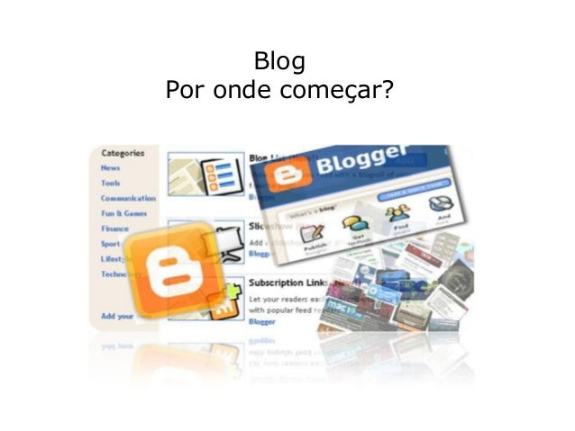 BlogPor onde começar?