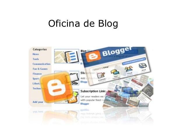 Oficina de Blog