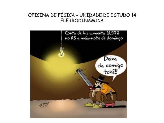 OFICINA DE FÍSICA - UNIDADE DE ESTUDO 14 ELETRODINÂMICA