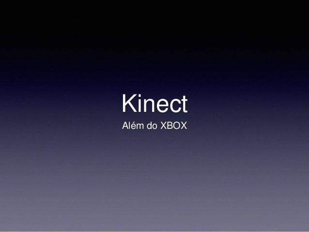 Oficina kinect
