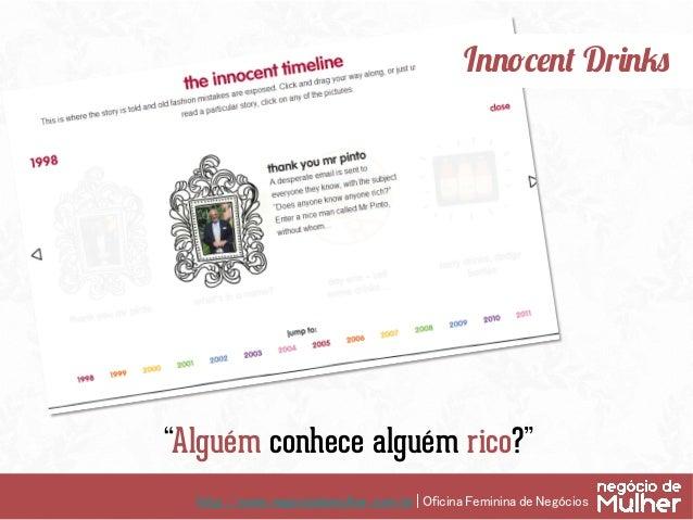 http://www.negociodemulher.com.br | Oficina Feminina de Negócios TrendRock