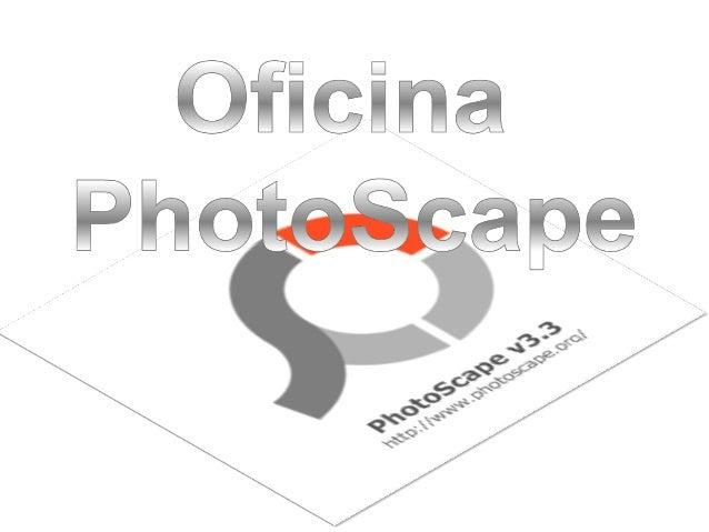 Photoscape é um programa para trabalhar e editar imagens de várias maneiras.