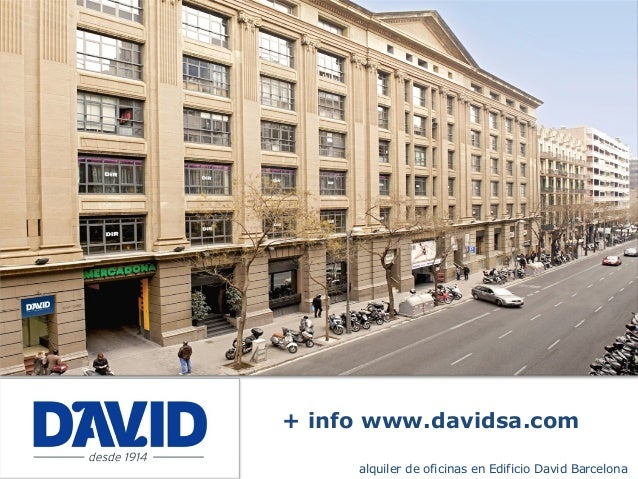 Oficinas alquiler barcelona edificio david for Oficina central de correos barcelona