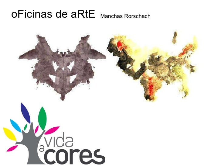 oFicinas de aRtE Manchas Rorschach