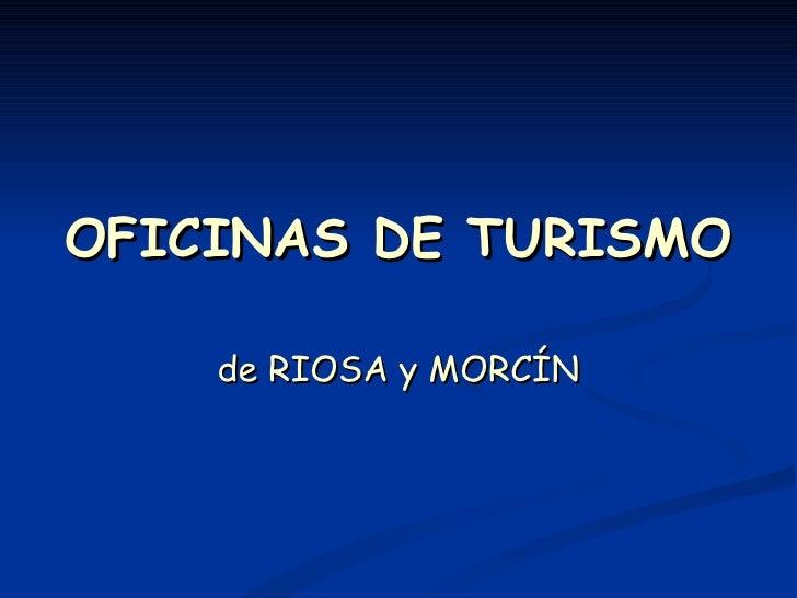 Oficinas de turismo for Oficina de turismo aguilas