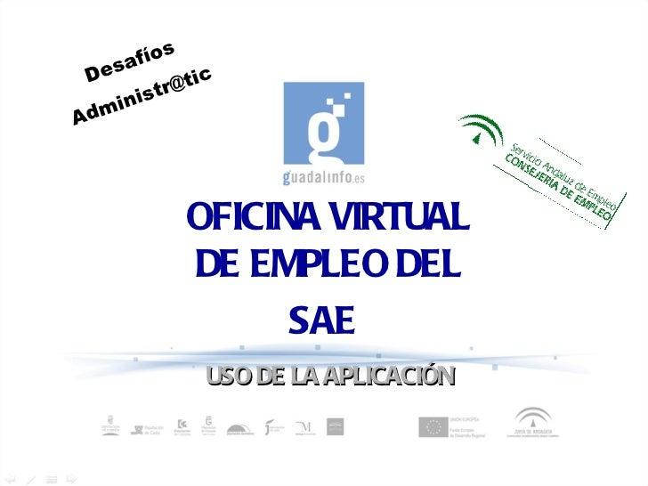 oficina virtual de empleo sae