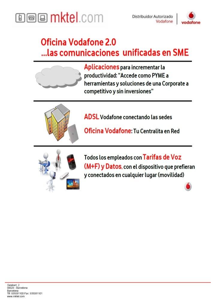 Oficina Vodafone 2.0    Especial Aplicaciones Transporte  Disco En Red