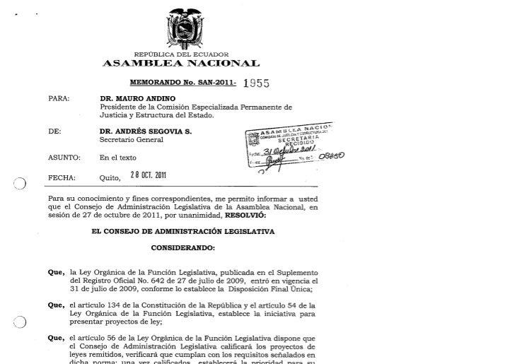 Proyecto de Ley Reforma al Código de la Democracia_Asambleísta Vela