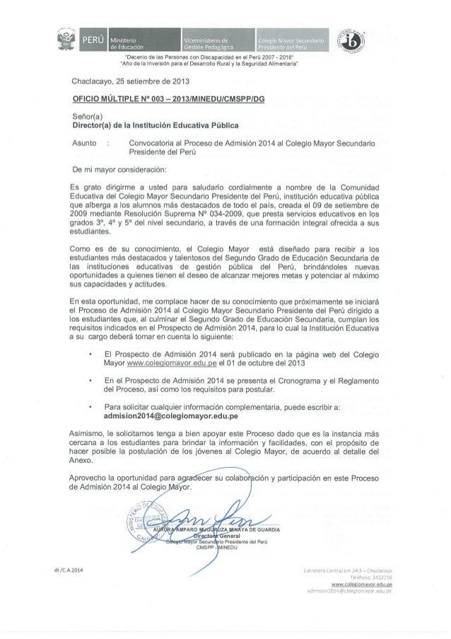 Oficio n003 ie_admision2014