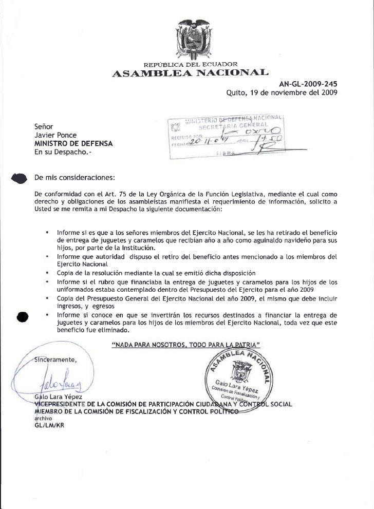 REPUBLICA DEL E(]UADOR                               AS A1ItrBI.EA NIACIONAI-                                             ...
