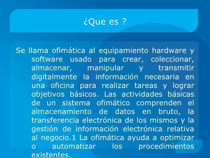 Software de computo -  ofimatica Morales Paredes Ricardo Gazpar Martinez Gabriel Garduño Hernandez Luis