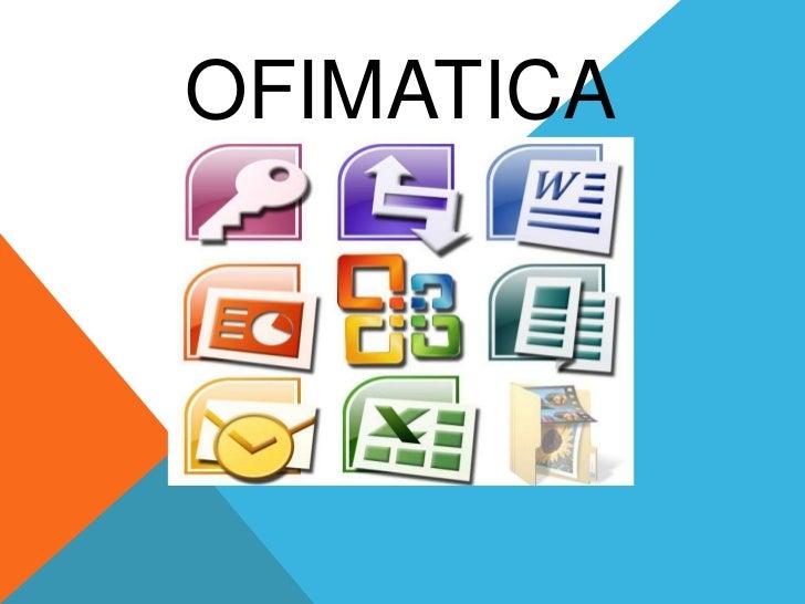 Ofimatica presentacion - Verti es oficina internet ...