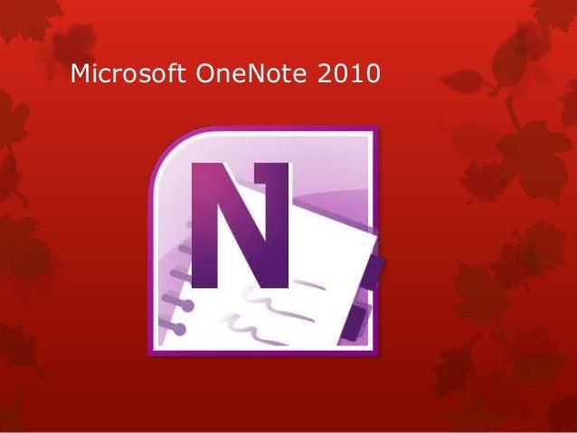 Microsoft OneNote 2010