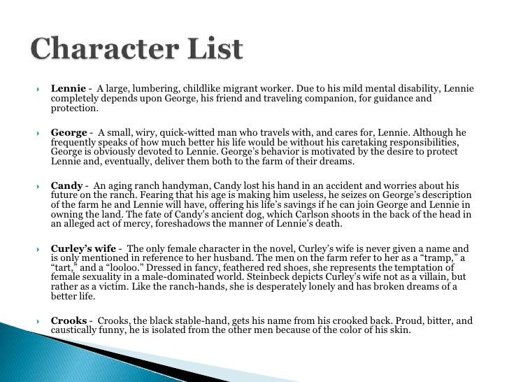 candy loneliness essay Which he uses in order to explor the theme of loneliness the characters looked  at in this essay are george, lennie, croo s, candy, curley's wife, carlson and.