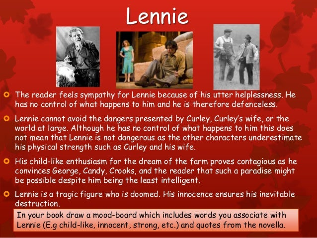 relationships between crooks and curleys wife Later on in the novel lennie and curley's wife are alone in  together and even  wonder whether their relationship is romantic, one can read between  of the  main characters, especially candy, crooks and curley's wife, but they are all, for.
