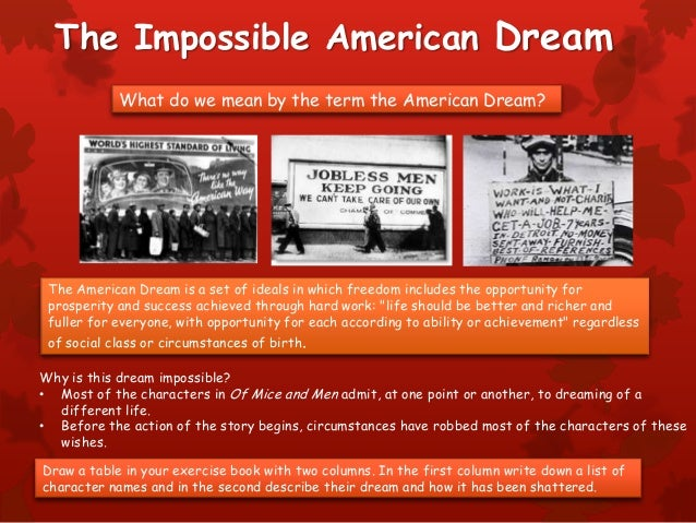 a modern america industrialized immigrants realizing the american dream essay Two american dreams: how a dumbed-down nation lost sight of a great idea 'america is a dream of greater justice and opportunity for the average man and, if we can not obtain it, all our other.