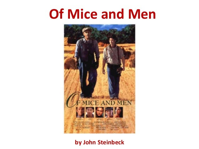 an analysis of the theme of the american dream in the novel of mice and men by john steinbeck The structure and style of john steinbeck's of mice and men contribute to the conclusions which can be drawn from this novel, and this can be seen particularly in the novel's introductions, where it can be seen that the conclusions drawn are inherent.