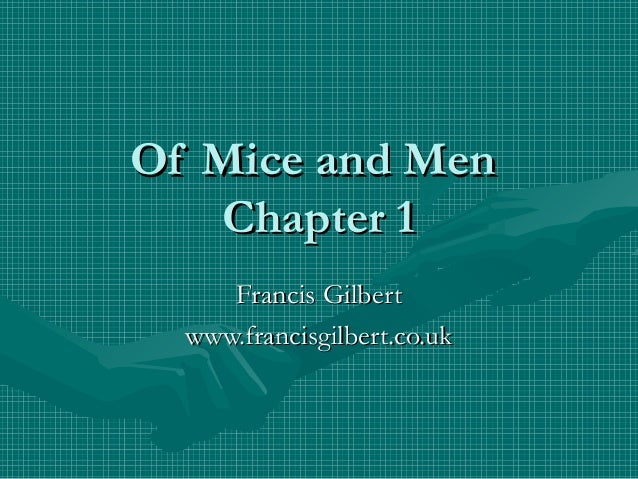 why is soledad relevant to of mice and men essay The characters in of mice and men experience loneliness in various ways to each other through the story many of the men who work at the ranch travel alone besides george and lennie this.