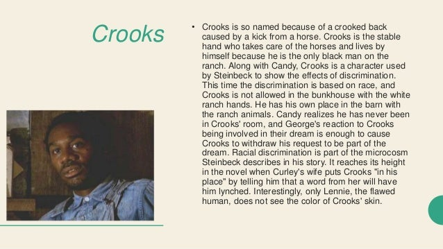 of mice and men crooks segregation term paper sample