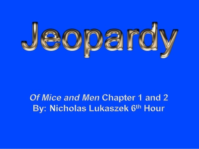 of mice and men 4th chapter 3rd quarter: the great gatsby & of mice and men 4th quarter: catcher in the rye english 9 focus.