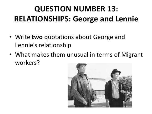 was george right to kill lennie