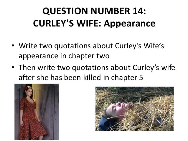 curleys wife loneliness quotes