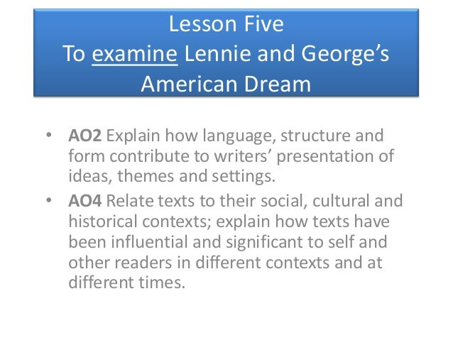 ... Of Mice And Men Essays American Dream Masters Admission Essay Of Mice  And Men American Dream