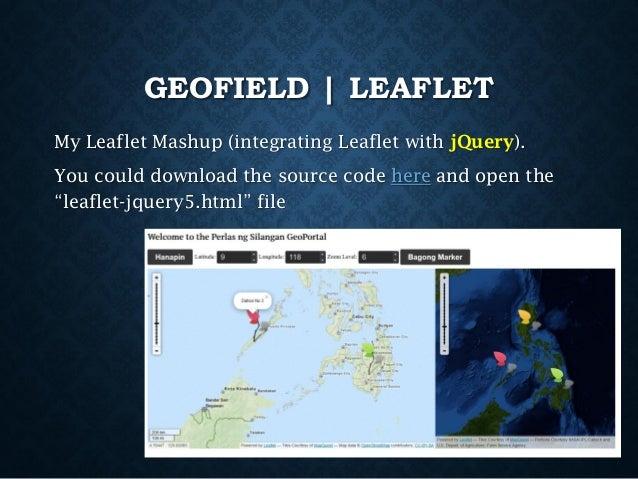 Leaflet Here Maps