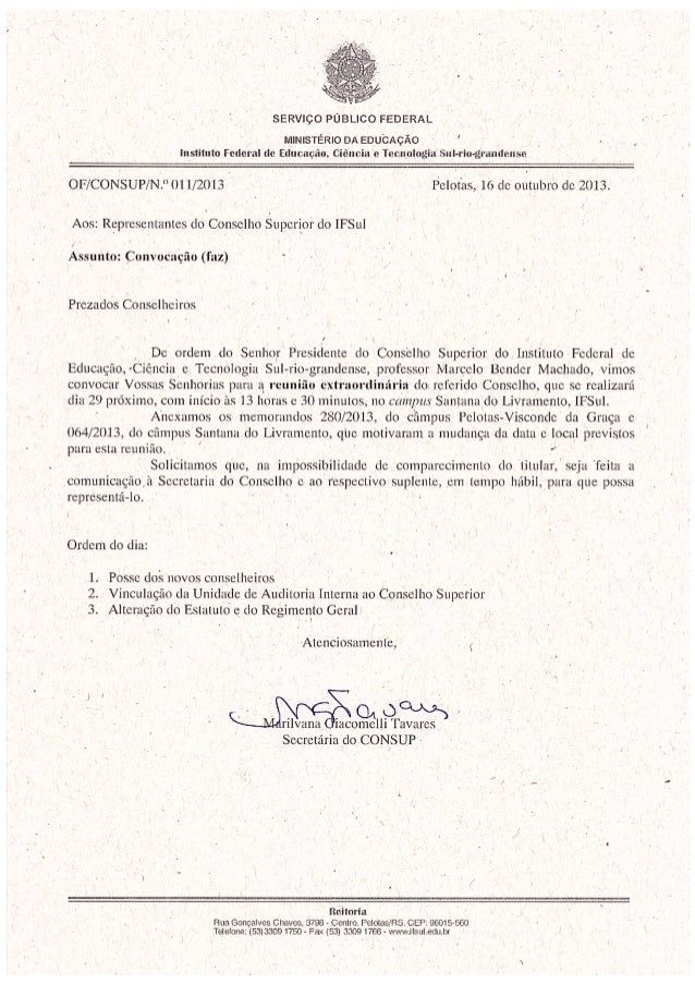 Of o11 2013 convocao