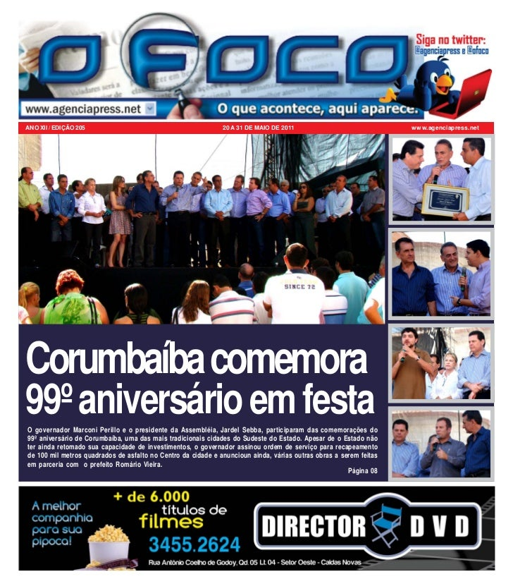 ANO XII / EDIÇÃO 205                                          20 A 31 DE MAIO DE 2011                              www.age...
