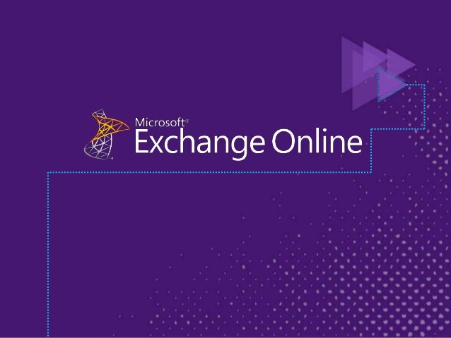 DEMO Setting up mail EXL-OFC311 Microsoft Office 365 and Microsoft Exchange: From Simple Migration to a Hybrid Environment