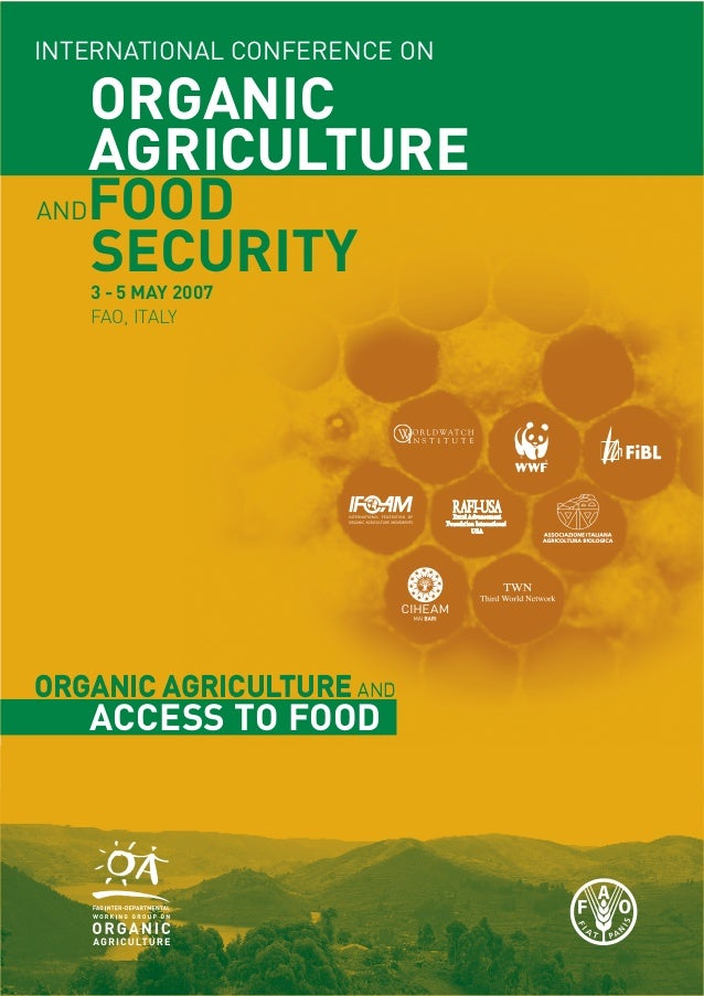 International Conference On Organic Agriculture And Food Security
