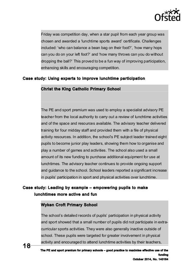 Case studies and frameworks - the RSA