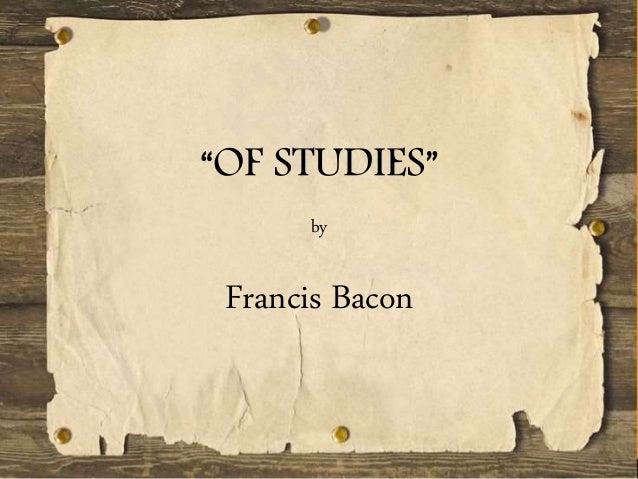 Essay Of Death By Francis Bacon Summary Writing
