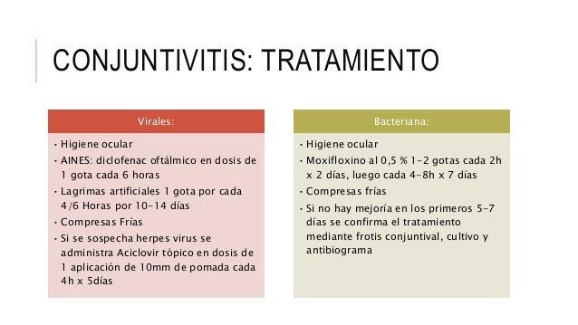 conjuntivitis bacteriana esteroides